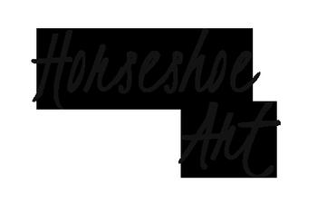 Horseshoe - Art logo